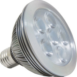 Antares Lighting - Alcor 12W PAR30 LED Bulb - Dimmable - The Alcor PAR30 LED Lamps are high quality and low energy consuming general purpose lamps that retrofit 50 Watt halogen PAR lamps
