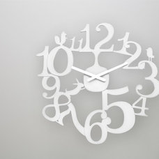 contemporary clocks by Gretel Home