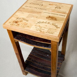 Wine Crate and Barrel Stave Island - Ignite Images