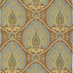Kaleen Rugs Inc. - Home And Porch 2' x 6' Rectangle Transitional - Home & Porch Mercer's Glenn 2020-51-Coffee 2 x 6