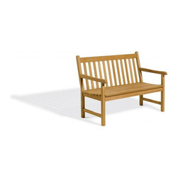Oxford Garden - Classic Bench 4 Foot - After studying England's finest gardens, we have refined the traditional designs of their garden benches, chairs and tables, manufacturing them to meet today's standards.  This Classic Design four-foot garden bench has beautiful hand finished rounded edges which gives our furniture a very pleasing look.  This bench is made of shorea, a teak family wood that is more dense and heavy than teak.  Shorea requires no finishing and will not rot when left outdoors where rain and sun will damage other lesser quality woods.  Left untreated, shorea will weather to a soft warm shade of gray similar to the weathering of teak.  Sturdy mortise and tenon construction provides the highest quality joinery that will last for many years.  Original color can be maintained by applying a seasonal coat of teak oil.