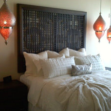 asian headboards by Paragon Kitchens and Construction Services