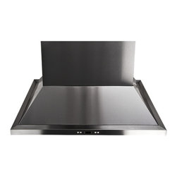 "Proline - Proline PLFI 520 Island Range Hood, 30 - PLFI 520.30 Island Range Hood. 600 CFM, 6 Speed, With LED Touch Display Panel and New Energy Efficient LED Lights. Brand New Euro Style Stainless Steel ""HoneyComb"" Baffle Filters."