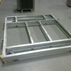 Nour Company Platform Roof & Shelves - 1000 KVA SKID STEEL BASE