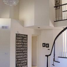 Contemporary Living Room by Nina Jizhar