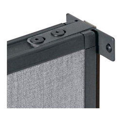 BBF - BBF PH99501 Pro Panels Wall Starter Kit - BBF-Office Panels-PH9950103-Solid connections make for solid walls. Use these Wall Starters to keep your temporary walls firmly anchored.