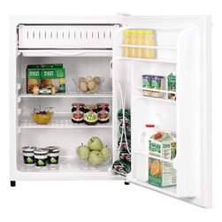 GE - GE 6.0 Cu. Ft.. Space Maker Refrigerator - Features: