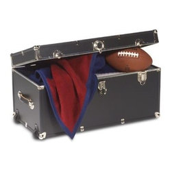 Mercury Luggage/seward Trunk - Storage Trunk With Wheels - Protect and store your gear in style whether in your dorm room or home. This attractive storage locker is great for packing away your belongings.