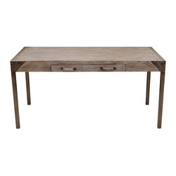 Urban Industrial Reclaimed Wood Desk - Part of the Daniel Kucan Collection for Mortise & Tenon.