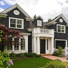 Traditional Exterior by Melanie Burge