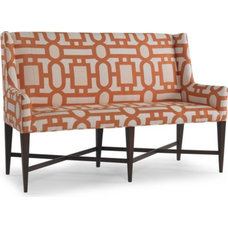 eclectic dining chairs and benches by Barbara Schaver @ Furnitureland South