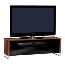 BDI - Cascadia TV Stand 8257 freestanding - The Cascadia Flatscreen TV Stand 8257 by BDI elegantly displays a flatscreen panel up to 73 inches. Its chic modern design is accompanied with cable management, adjustable shelves, and ventilation. Choose from 3 color options.
