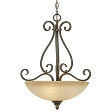 Traditional Pendant Lighting by Carolina Rustica