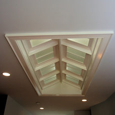 Contemporary Skylights by Lauer Construction, Inc