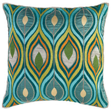 Mediterranean Bed Pillows And Pillowcases by Layla Grayce
