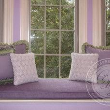 Traditional Bedroom by Custom Drapery Designs, LLC.