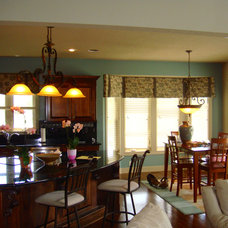 Traditional Window Treatments by One Stop Decorating Center