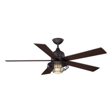 Savoy House - Savoy House Hyannis Ceiling Fan in English Bronze - Savoy House Hyannis Model SV-52-624-5CN-13 in English Bronze with Chestnut Finished Blades.