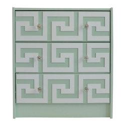 """O'verlays® Greek Key Kit for IKEA Rast 3 Drawer: 7"""" x 22.5"""" x 1/4""""  (3) - O'verlays® Greek Key Kit for IKEA Rast 3 Drawer: 7"""" x 22.5"""" x 1/4""""  (3)"""