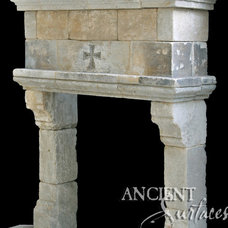 Mediterranean Fireplaces by Ancient Surfaces