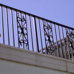 Balcony Rail - Powder coated aluminum Balcony Rail