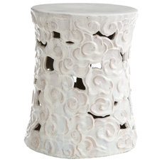 Traditional Ottomans And Cubes by Wisteria