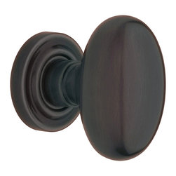 Baldwin Hardware - Baldwin Estate 5025 Egg-Shaped  Door Knob Set - Passage - 5025 Product Details: