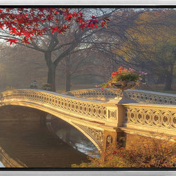 Elementem - Central Park Framed Print - Central Park  is a framed perspective piece to match our popular New York city Scene  series.Printed on vinyl, laminated, and mounted onto MDF, the print comes already attached to an exquisite frame, and takes minutes to hang.