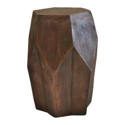Rojo16 - Copper Stool - Rojo16 Copper Stool is an exclusive furniture item that creates a strong focal point in the room. Made of aluminum/copper metal finish.