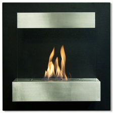 modern fireplaces by Liberty Windoors Corp.