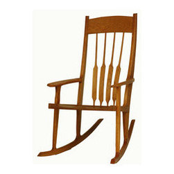 Sunrise Rocking Chair - Sunrise rocker is a dream—lovingly handcrafted to meet the needs of new parents and growing families. (Hint: It's a thoughtful gift from grandma and gramps.)