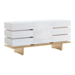 Three Wide Dresser By Nurseryworks - Highly flexible and easily expandable,this modular case offers multiple storage options and suits a wide variety of environments for the adult as well as the child.