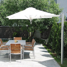 Traditional Outdoor Umbrellas by FRONTGATE