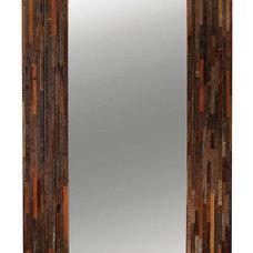 Rustic Floor Mirrors by Zin Home