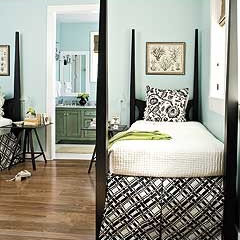 Coastal Guest Bedroom - MyHomeIdeas.com