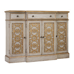 Hooker - Hooker Furniture Thin Door/Drawer Console - Hooker Furniture Thin Door/Drawer Console 5346-85001