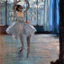 Dancer Posing at a Photographer's Studio | Edgar Degas | Canvas Prints - Condition: Unframed Canvas Print