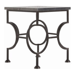 Arteriors Westerly Iron/Metal Side Table - Westerly Iron/Metal Side Table