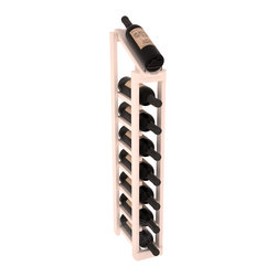 Wine Racks America - 1 Column 8 Row Display Top Kit in Pine, White Wash Stain - Make your best vintage the focal point of your cellar or store. The slim design is a perfect fit for almost any space. Our wine cellar kits are constructed to industry-leading standards. You'll be satisfied. We guarantee it. Display top wine racks are perfect for commercial or residential environments.