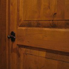 Mediterranean Interior Doors by Custom Homes by Miller