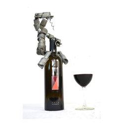 Wine Bot Bottle Topper -
