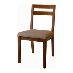 Rio Dining Chair, Medium Walnut