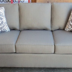 2013 Customer Custom Orders - Rowe Monaco Sofa at Barnett Furniture in Trussville / Birmingham Al.  You Choose the Fabric
