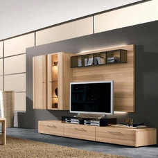 modern media storage by Dayoris Custom Woodwork