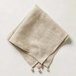 "Anthropologie - Chindi Napkin - LinenMachine wash20"" squareImported"