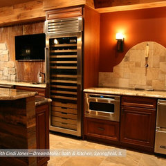 contemporary kitchen by DreamMaker Bath & Kitchen