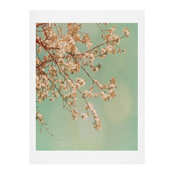 DENY Designs - DENY Designs Happee Monkee Plum Blossoms Art Print - Finally an affordable wall art option! Order one statement print or live on the edge and dream up an entire gallery wall. And whether you frame it or hang it as-is, your walls will be big on inspiration while being kind on your pocketbook.