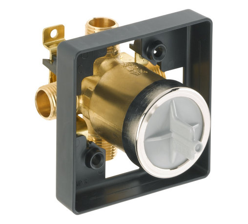 Delta - MultiChoice Universal Tub and Shower Valve Body - Delta R10000-UNBX MultiChoice Universal Tub and Shower Valve Body.
