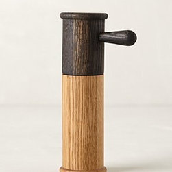 Anthropologie - Minaret Salt & Pepper Grinder - *Oak wood