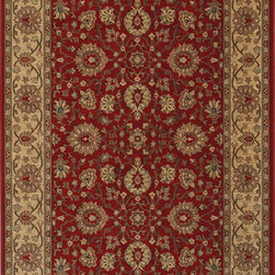 "Karastan - Karastan Original Karastan 700-00730 (Bella Rose) 8'8"" x 12' Rug - Inspired by prized museum pieces and antiques, the Original Karastan Collection of rugs is recreated from Persian, Turkoman, and other handwoven orientals while maintaining authenticity to the finest detail. Each rug is Axminster woven through-the-back of the finest imported skein-dyed and lustre washed worsted wool yarns. Empress Kirman is part of the Original Karastan collection."